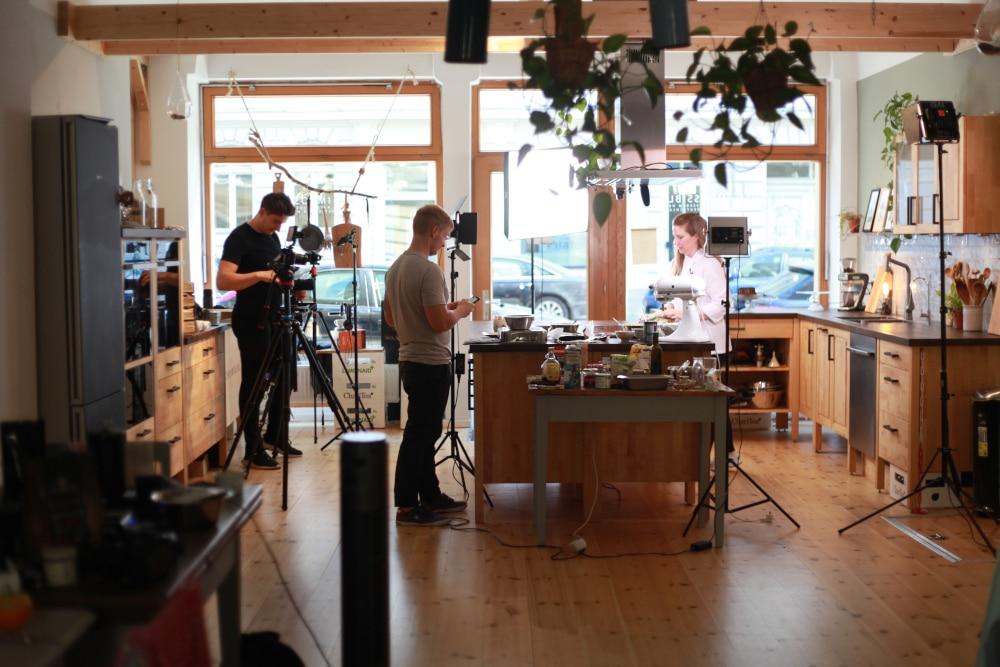 Kochkurs unter Anleitung von Experten und professionellen Köchen
